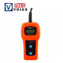 UIFTECH Memoscan U281 for AUDI VW SEAT CAN-BUS OBD CODE READER U281 OBD2 Engine Code Reader CAN BUS OBD2 Scanner tool(China)
