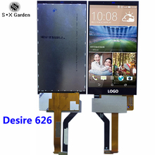 For HTC Original desire 626 626G LCD Display With Touch Screen Digitizer Assembly Replacement Parts
