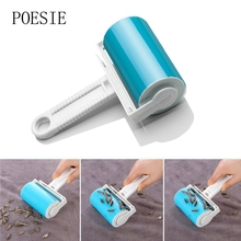 Washable Sticky Hair Sticky Clothes Sticky Buddy For Wool Dust Catcher Carpet Sheets Hair Sucking Sticky Dust Drum Lint Rollers(China)