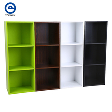 Multi-function Wooden Bookcase Sundries Shelf Standing Book Shelves Storage Wood Cabinets Display Rack 31.4*11.8*9.3inch(China)
