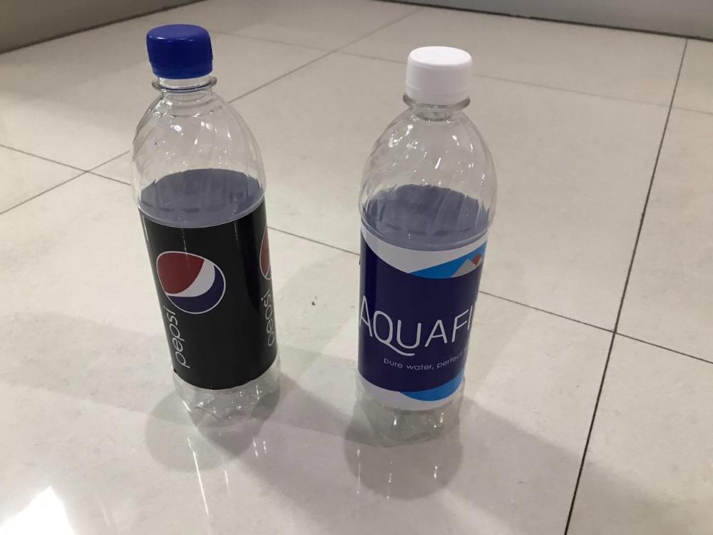 AQUAFINA and Pepsi