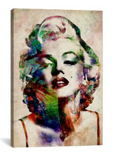 Canvas ART Marilyn Monroe Canvas Art Print by Banksy, 12 by 16 inch, 12 by 18 inch, 16 by 20 inch