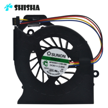 100 pieces/lot Brand New DV6 cooler for HP DV7-6000 DV6-6000 laptop fan 100% original DV7-6000 DV6 notebook cpu cooling fan(China)