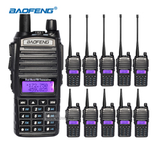 10pcs Walkie Talkie With Earpiece Baofeng uv-82 2 Way Radios Long Range Dual-Band UHF/VHF CB Handheld Ham Radio Communicator