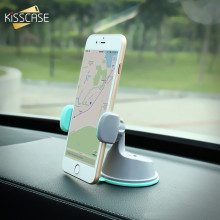 KISSCASE Mini Phone Car Holder 360 Air Vent Mount Adsorption Car Mobile Mount Holder For Car For iPhone 6 6s 7 7 Plus 5 5S SE