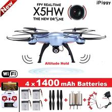 Buy SYMA X5HWRC Helicopter Quadrocopter Drone Camera Wifi FPV HD Real-time 2.4G 4CH Quadcopter RC Dron Toy (X5SW Upgrade) for $76.82 in AliExpress store
