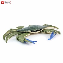 Wiben Sea Life Crabs Animal Model Action & Toy Figures  Educational toys Collection Boys Gifts