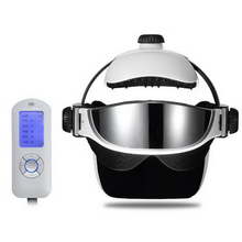 331002/Multi-functional scalp massage helmet/ABS material/Head massage instrument/Head massage/electric brain insomnia massage/(China)