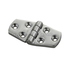 Free Shipping 4PCS Marine Boat Cabin Flush Door Hinges Casting 316 Stainless Steel Strap Butt Hinge