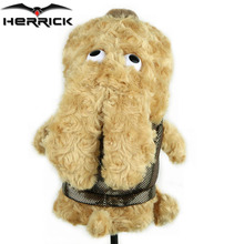 NEW Golf Club Headcover Plush Cute cartoon dog bar head Protection Covers Free Shipping