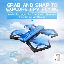 Jjrc H43wh Selfie Drone With Camera 720p Foldable Drones Mini Rc Drone Remote Control Toys For Children Wifi Rc Helicopter(China)