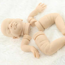 20 Inch Real Solid Very Soft Silicone Reborn Baby Doll Kits Parts for Handmade Silicone Reborn Baby Doll Kits