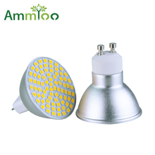 AmmToo GU10 LED Bulb 220V 5W 7W 9W Led Light MR16 110V Spotlight Bulb 2835 Dimmable Lamp GU5.3 GU 10 Spot light For Home Mall(China)