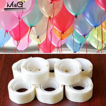 100Pcs Balloons Glue Point Foil Latex Balloon Fix Gum Air Balls Inflatable Toys Wedding Party Birthday Decoration