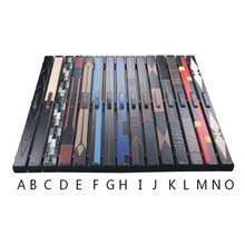 New 3/4 Snooker Cue Case Leather PU Billiard Accessories Snooker Cues Cases Set 15 Options China High Quality(China)