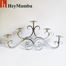 Top Rated 5 Head Table Metal Crystal Candle Holder Wedding Candelabras  Wedding Prop Home Decoration Candle Stick