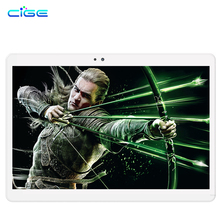 Free shipping Cige 2017 Newest 10.1 inch 3G 4G Lte Tablet PC Octa Core 2GB RAM 32GB ROM Dual SIM Card Android 6.0 IPS tablets 10