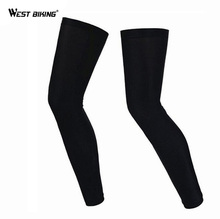 WEST BIKING Men Women UV Protective Mountain Bike Legwarmers MTB Ciclismo Cycle Leg Sleeve Bicycle Cycling Leg Warmers Autumn