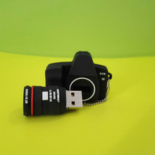 Mini cute camera USB Flash Drive memory stick USB 1gb 2gb 4gb 8gb -64gbcreativo u disk pendrive gift/ souvenir S14(China)