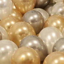 "Air ball 12 ""3.2 g gold balloon birthday party decoration helium balloon kids inflatable toy ball 50pcs latex balloon wholesale"