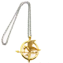 5cm The Hunger Games Catching Fire Bird Action Figure Necklace Alloy Logo Decoration Science Fiction Movies Action Figure