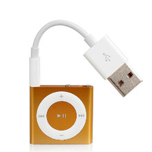 3.5mm Jack to USB 2.0 Data Sync Charger Transfer Cable Adapter Cord for Apple iPod Shuffle 3rd 4th 5th 6th