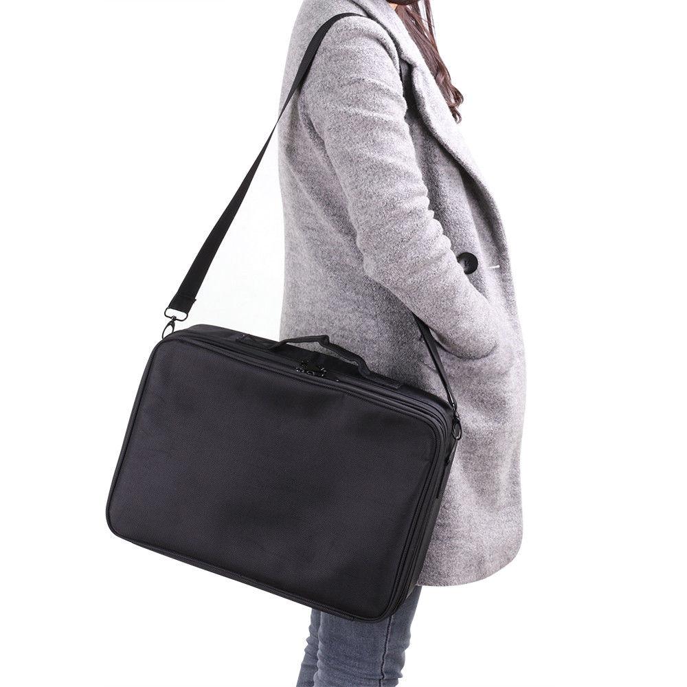 Women Makeup Bag High Quality Professional Organizer Makeup Brush Bag Case Cosmetic Bag Large Capacity Storage Bag Art Tool Box (2)