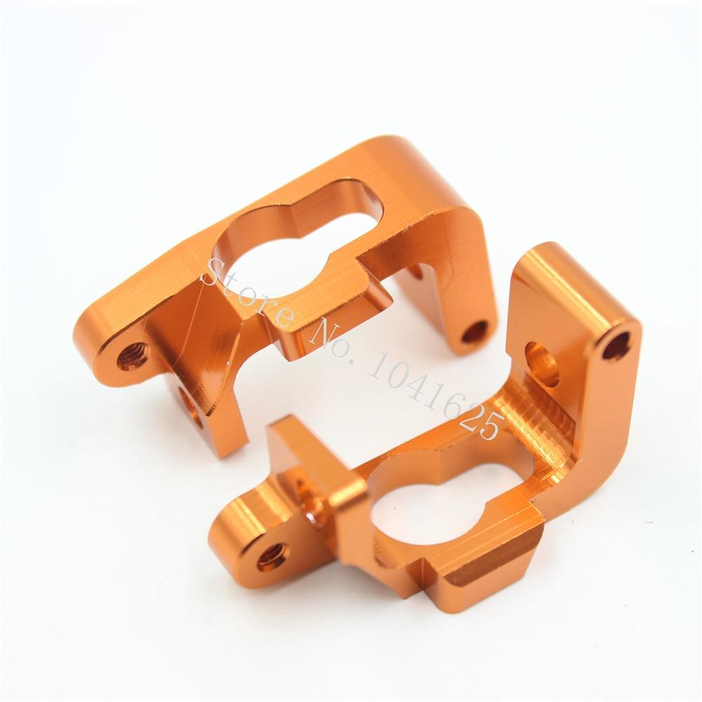 For HPI Bullet ST 3.0 MT / WR8 RTR Kit Aluminum C Hub Carrier Set (L/R) AL. Hard Anodize Replace #108077 Option Parts Upgrade<br><br>Aliexpress