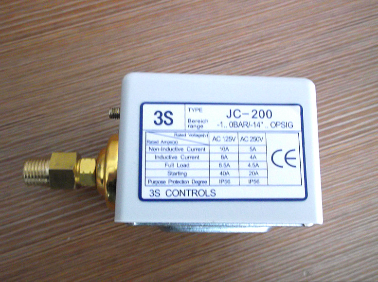 3s pressure switch single electro controller  JC-200<br>