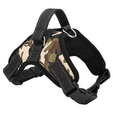 New Service Dog Harness Vest Service Dog Harness Vest Cool Comfort Oxford cloth for dogs Camouflage