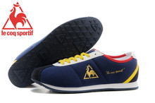 Hot Sale Le Coq Sportif Men's Running Shoes,High Quality Canvas Upper Le Coq Sportif Men's Athletic Shoes Sneakers Navy Color 1