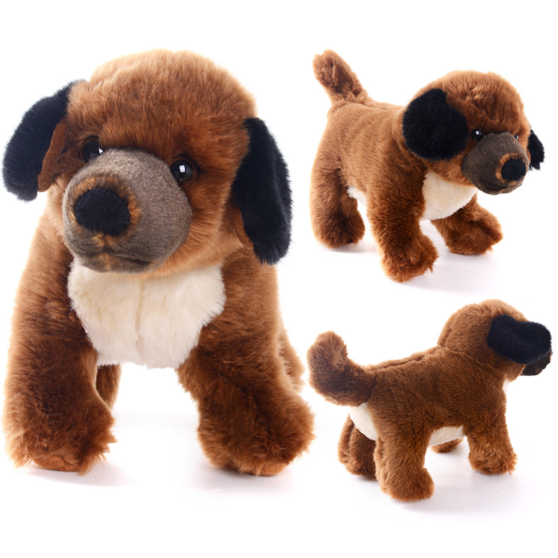 Delivery USA Simulation Stuffed Animal Dog Dolls Plush Dog Toys Birthday Gifts For Kids Children Collection 12*4(30*10cm)<br><br>Aliexpress