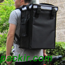 "PK-34V: Small Food Delivery Backpack for Hot and Cold, Warmer Bags, Food Boxes,Top Loading, Magic Stick, 13"" L x 9"" W x 18"" H(China)"