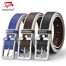 Buy DINISITON Brand Belt Men C Genuine Leather Strap Man Designer Belts alloy pin buckle High exquisite male Ceinture for $11.10 in AliExpress store