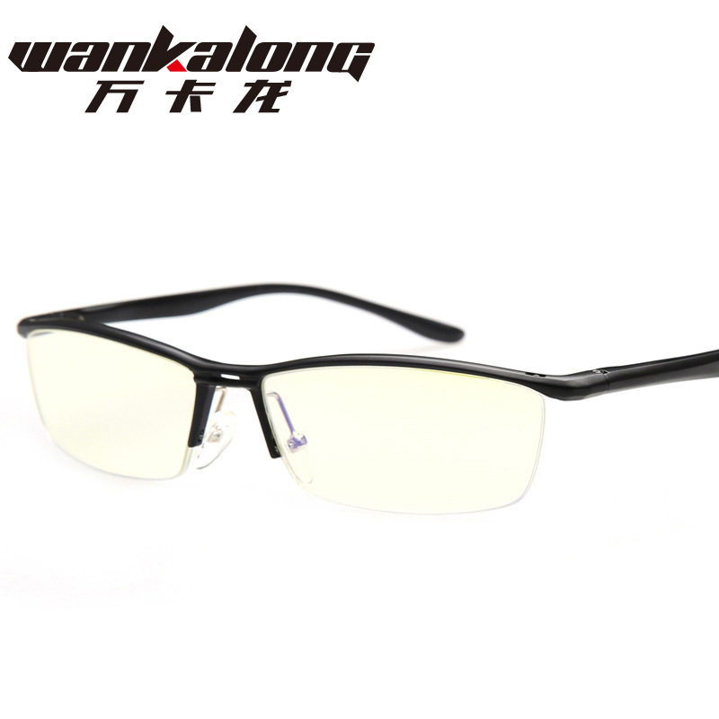 The new aluminum magnesium Unisex Computer Anti fatigue glasses and goggles half anti blue 130 <br><br>Aliexpress