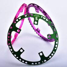 For DAHON BYA 412 Folding Bike Crankset 45 / 47 T Al 7075 CNC 130 BCD  foldable bicycle Chainring 3 colors
