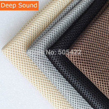 Deep Sound Speaker mesh Speaker grill Cloth Stereo Grille Fabric Dustproof Audio Cloth(China)