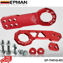 EPMAN Tow Hook / Bar Billet Aluminum Front+Rear Tow Hook Kit for universal car EP-TH01Q-FS