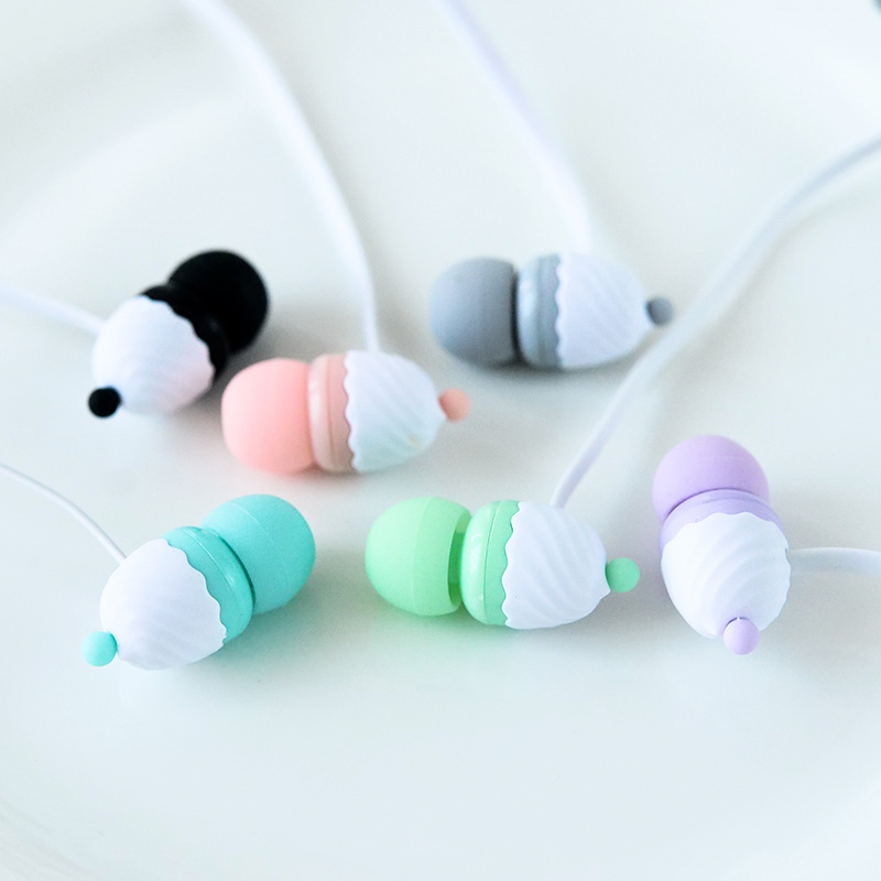 Chiclits Headphones M169 In-Ear Headset Ice Cream Style Earphones With Microphone Earphone for Iphone Samsung Xiaomi MP3 Player (12)