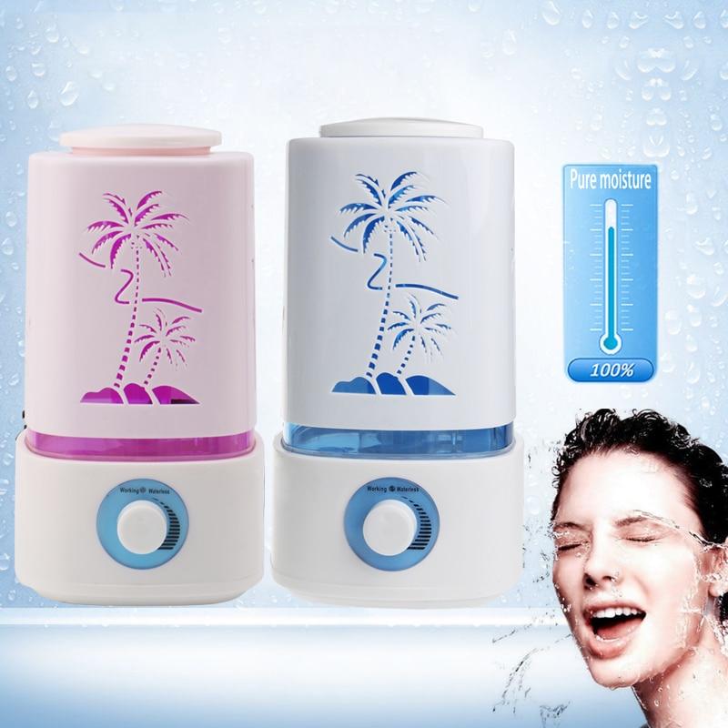 Ultrasonic Aromatherapy Air Humidifier LED Light Mist Maker Diffuser EU Plug<br><br>Aliexpress