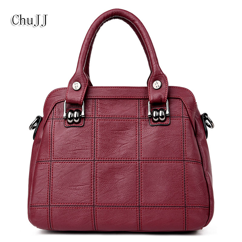 High Quality Womens Genuine Leather Handbags Shoulder CrossBody Bags Fashion Messenger Bags Shell Women Bags Ladies<br>