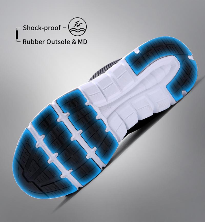 MODYF Men Safety Steel Toe Work Shoes Lightweight Breathable Casual Footwear 9