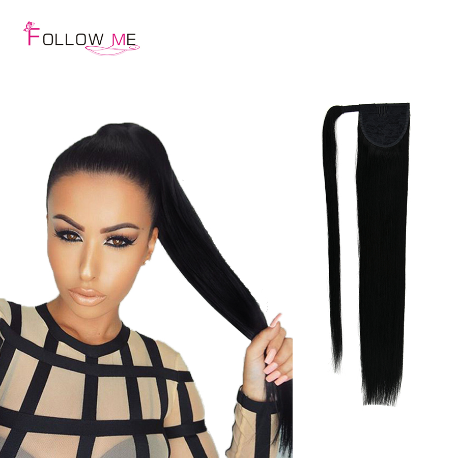 Human Hair Ponytail Extensions Indian Drawstring Ponytail Extensions Remy Hair Beauty Black Human Hair Ponytail Hairpiece<br><br>Aliexpress