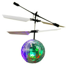 YYBB Hot!Usb-Charger Flying Ball Suspension hand Feeling Helicopter Music Magic Toy Funny Bag Led  Funny Gadgets Balloon Sensory