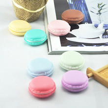 1 pcs Cute candy color storage box Macaron jewelry Packaging Display pill case organizer zakka home decoration gift