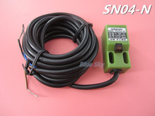 1pcs SN04-N 4mm Approach Sensor 10-30V DC Inductive Proximity Switch