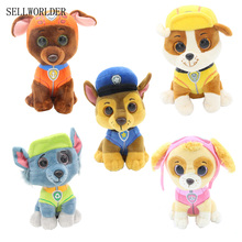 "SELLWORLDER Ty Beanie Boos Big Eyes 6"" 15cm Little Puppy Dogs Stuffed & Plush Animals Toys for Children Christmas Gift Brinquedo(China)"