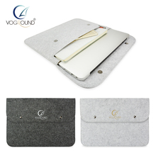 VOGROUND 2017 New Wool Felt Sleeve Bag Case For Apple Macbook Air Pro Retina 11 12 13 15 Laptop Cover For Mac book 13.3 inch(China)