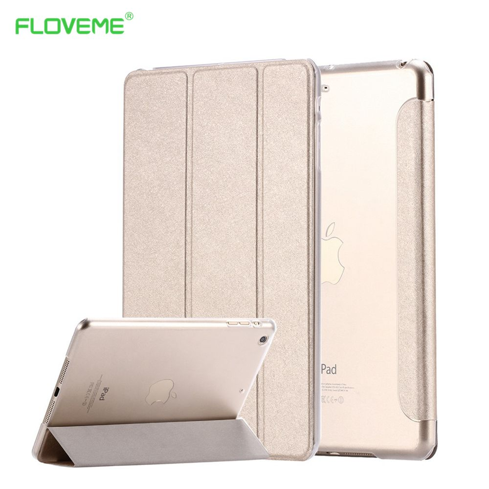 New Transparent Clear Silk Leather Case for ipad Mini 1 2 Retina 3 7.9 Luxury Stand Tablet Shell Smart Cover for apple ipad Mini<br><br>Aliexpress