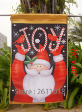"Santa Claus holiday flag December Christmas ""12.5 x 18"" ""28 x 40."""